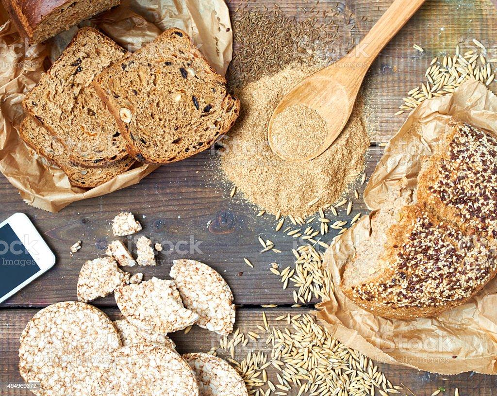 Gluten-free food stock photo