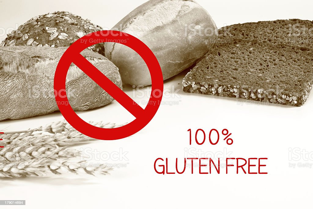 gluten-free royalty-free stock photo