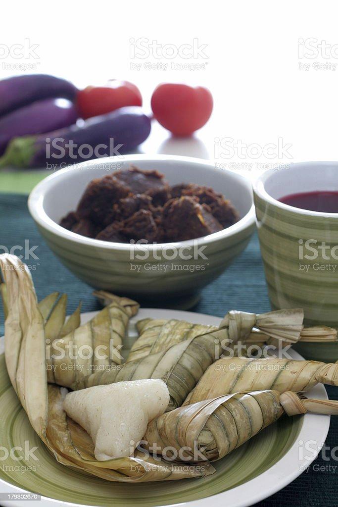 Glutinous rice royalty-free stock photo