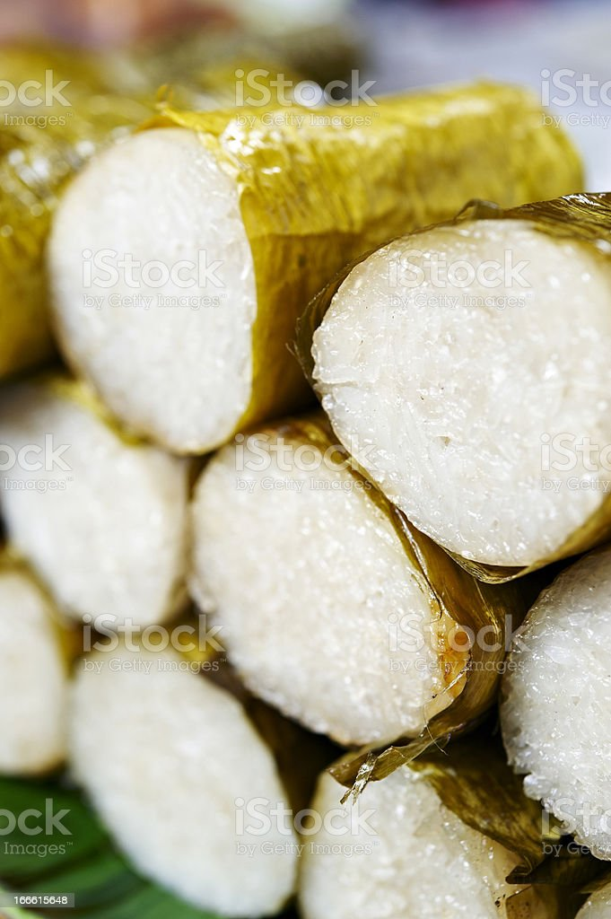 Glutinous Sticky Rice royalty-free stock photo