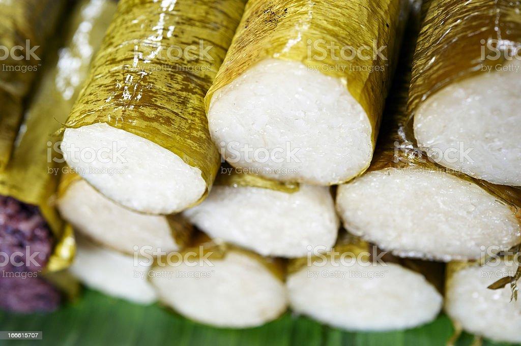 Glutinous Sticky Rice stock photo
