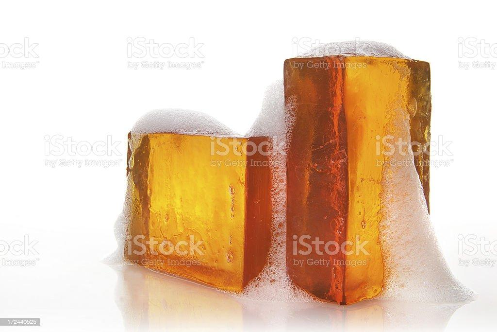 glycerin soap stock photo