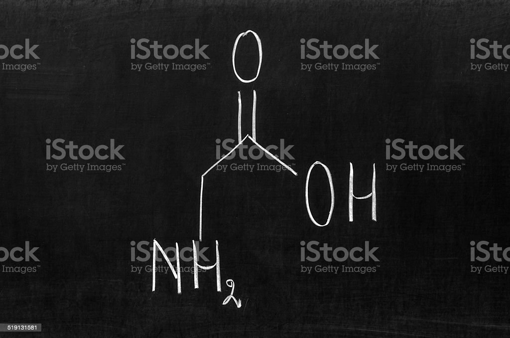 Glycine stock photo