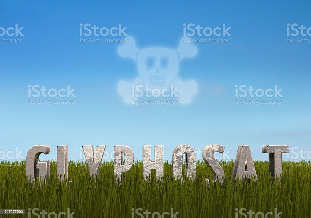 Glyphosat stock photo