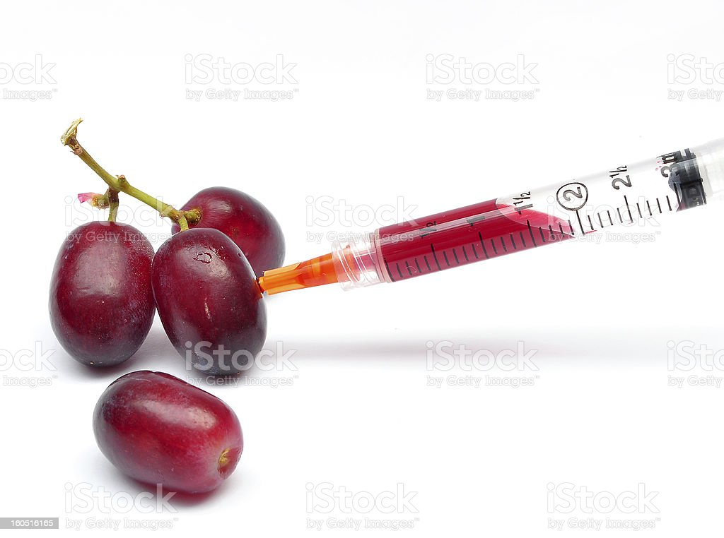 gm fruit stock photo
