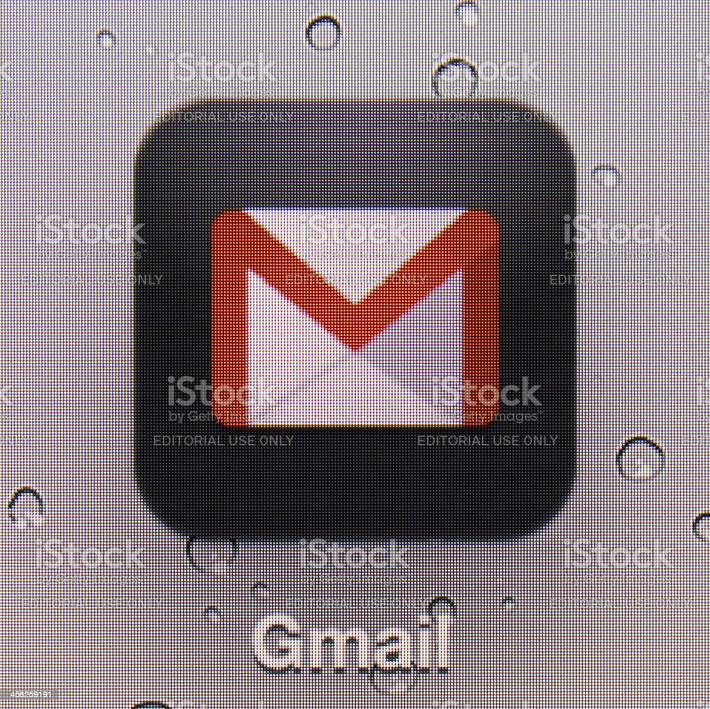 Gmail royalty-free stock photo