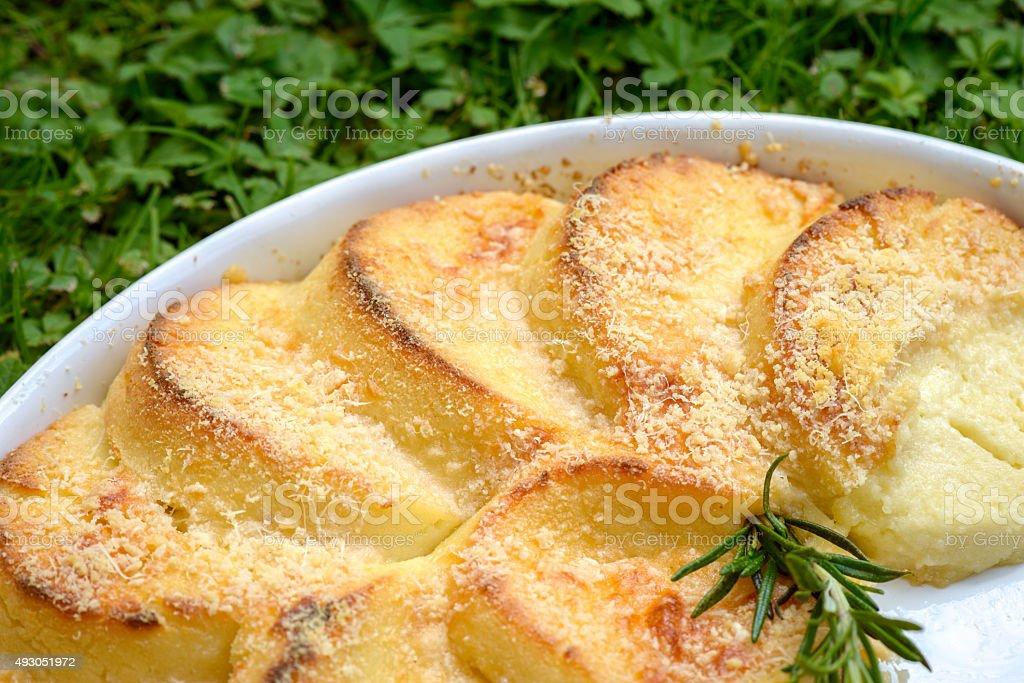 Gnocchi Romaneschi stock photo