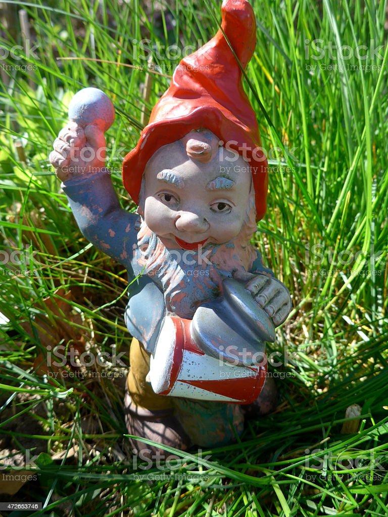 Enano de jardín en el Bild - foto de stock libre de derechos
