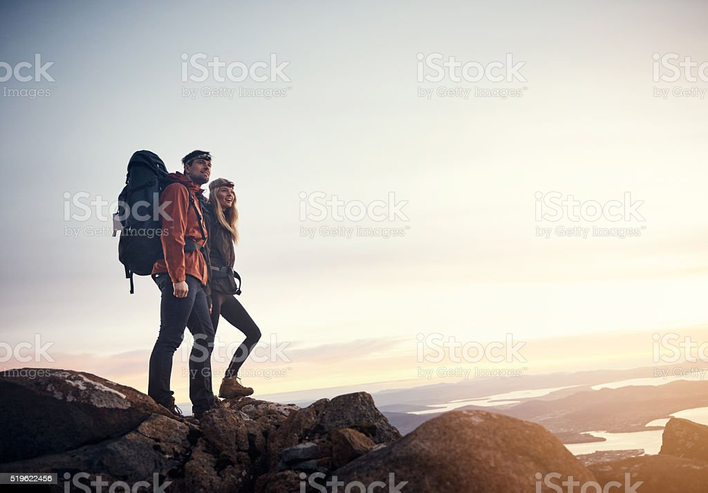 Go and see all you possibly can stock photo