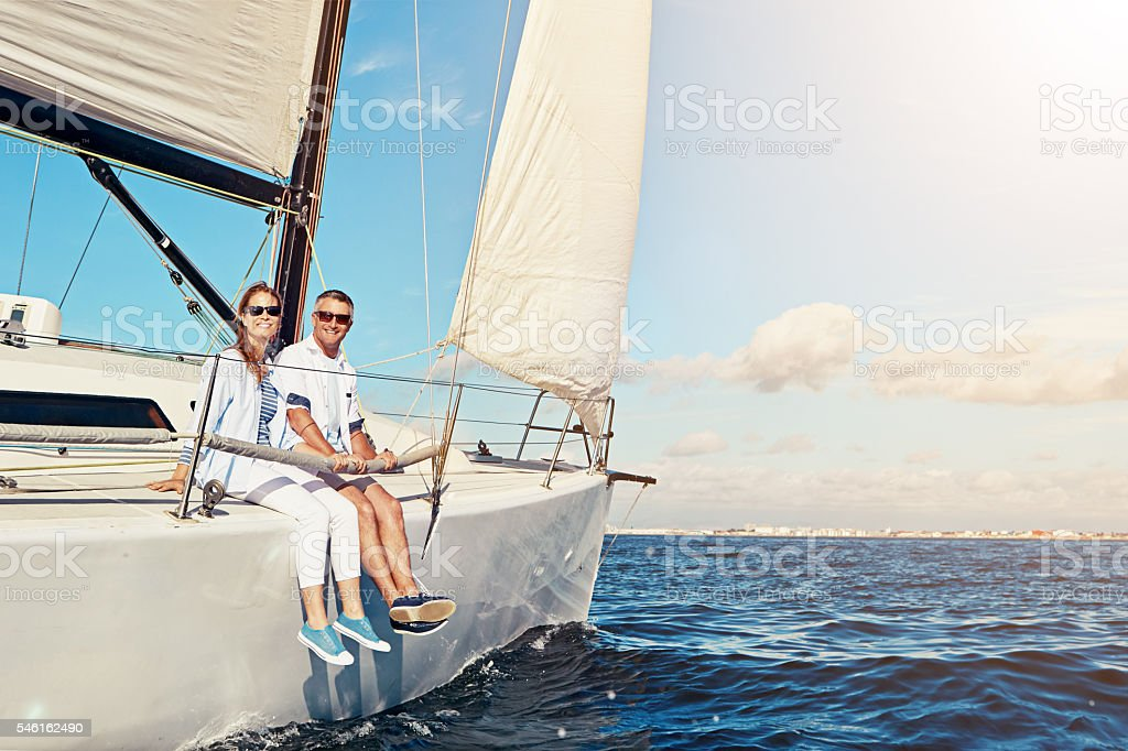 Go and see the world together stock photo