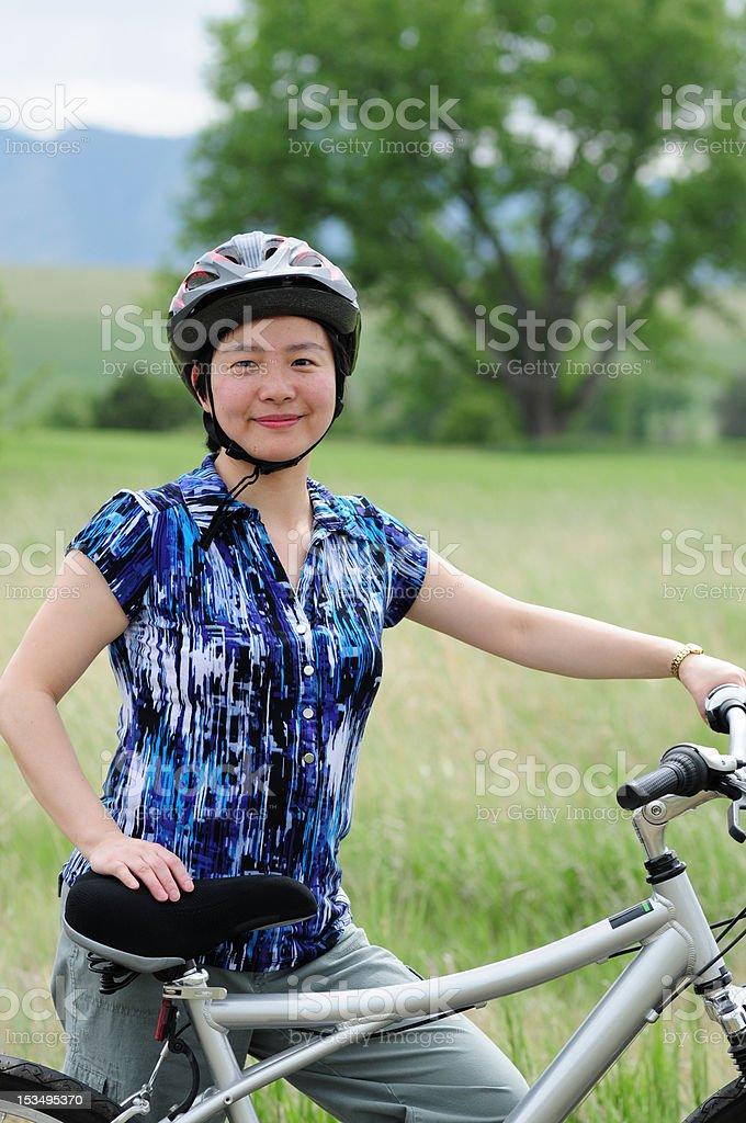 Go Biking royalty-free stock photo