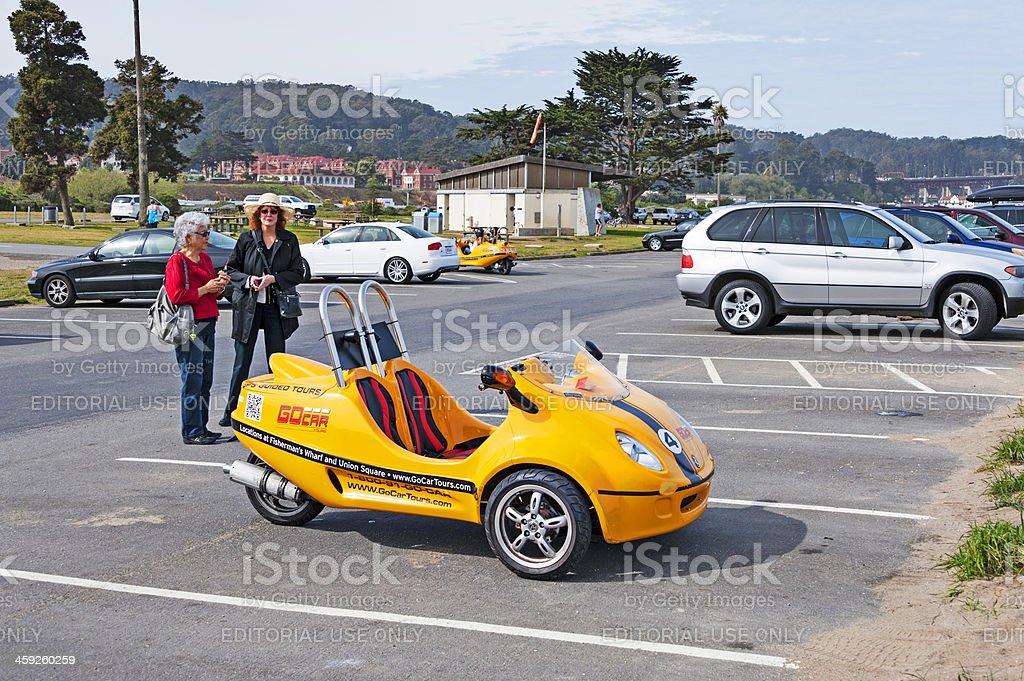 Go Car royalty-free stock photo