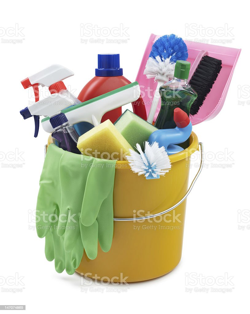 go cleaning stock photo