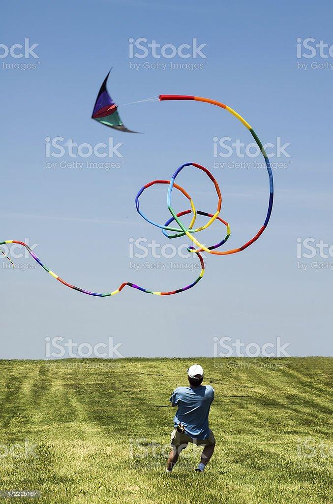 Go Fly a Kite royalty-free stock photo