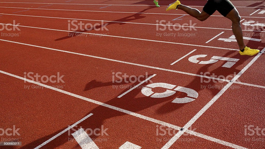 Go for it!! stock photo