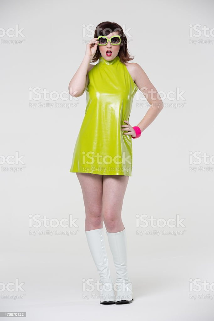 Go Go Girl stock photo