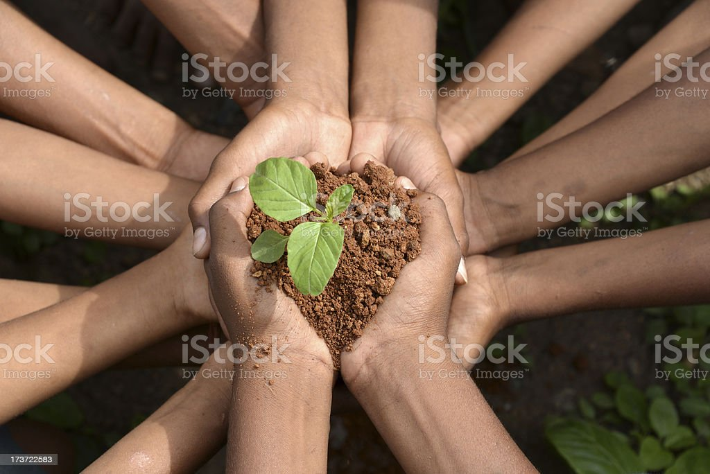 go green - save the environment royalty-free stock photo