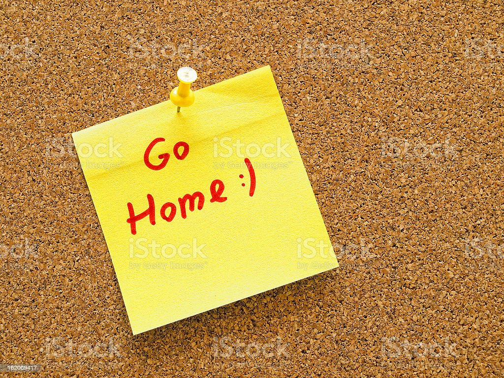 go home royalty-free stock photo