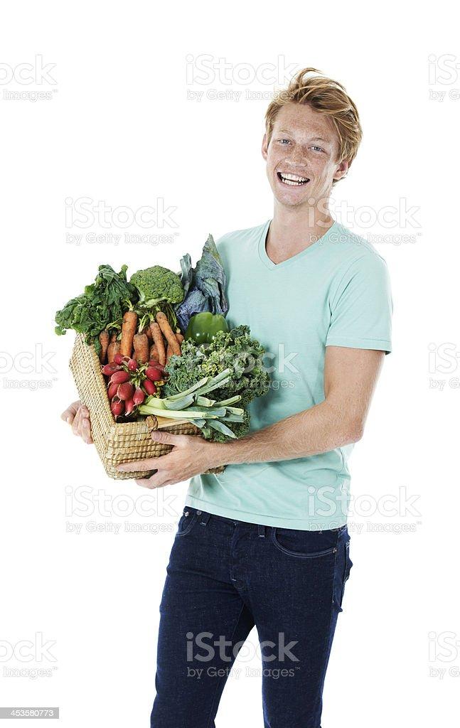 Go organic royalty-free stock photo