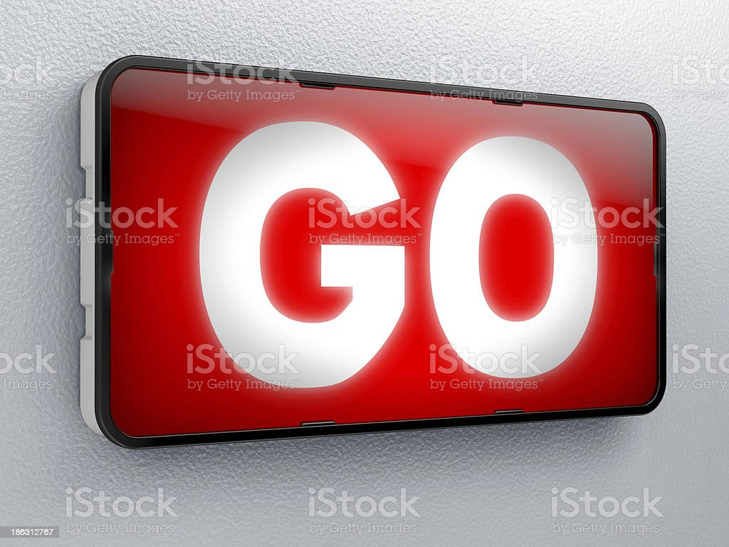 go royalty-free stock photo