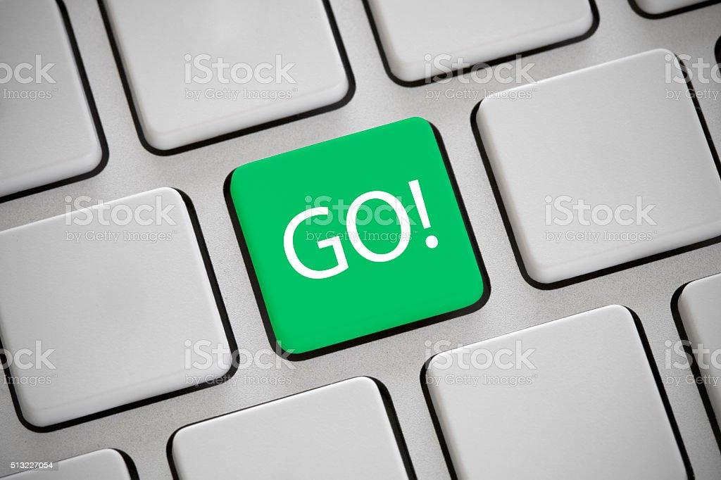 Go! stock photo