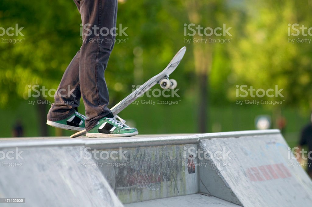 go skateboarding royalty-free stock photo