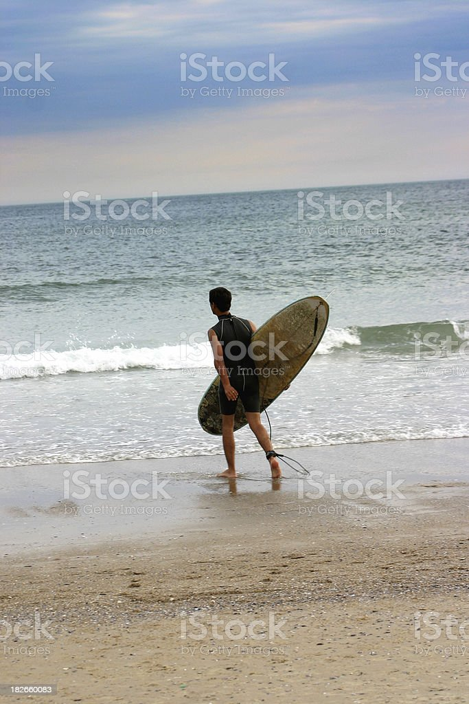 Go surfing stock photo