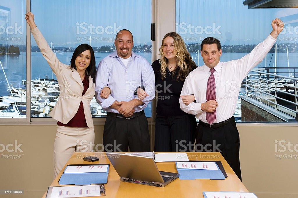 Go Team! royalty-free stock photo