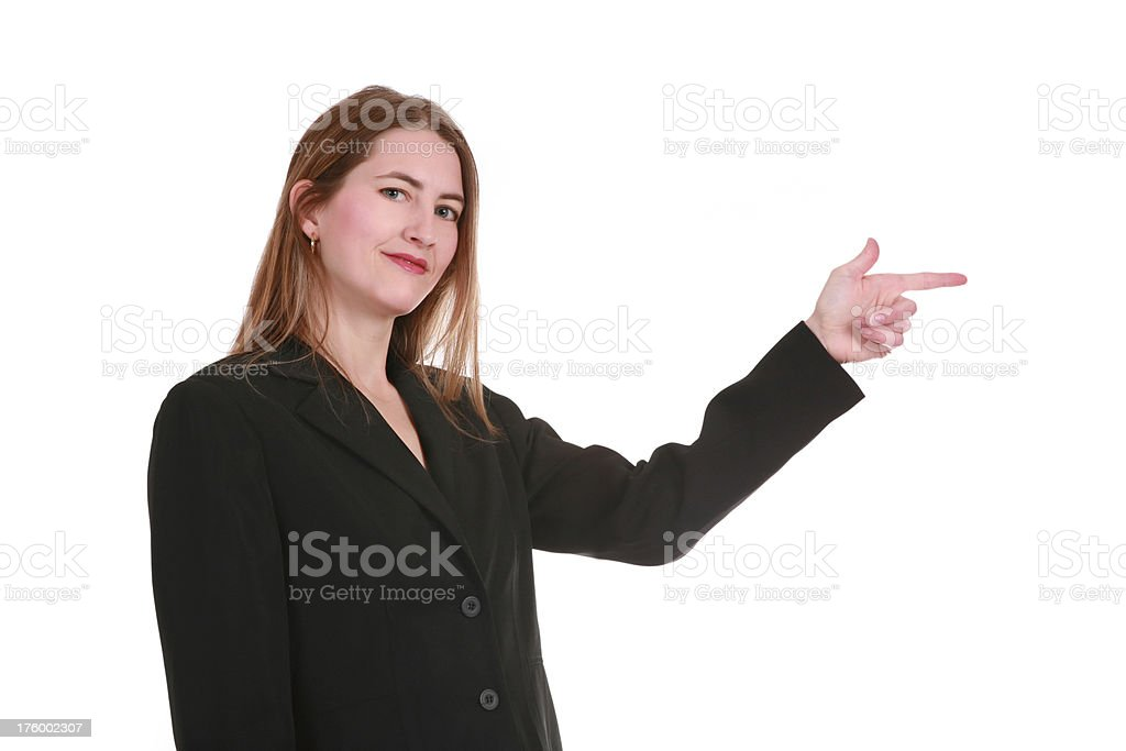 Go That Way royalty-free stock photo