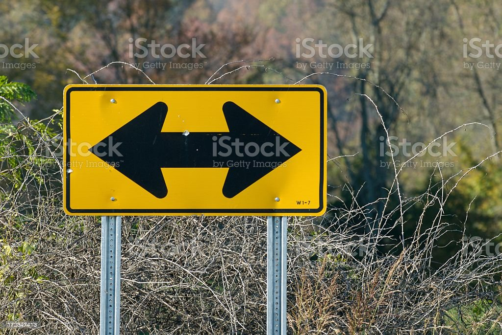 Go This Way royalty-free stock photo