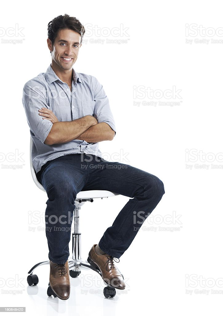 I go through life at my own pace stock photo