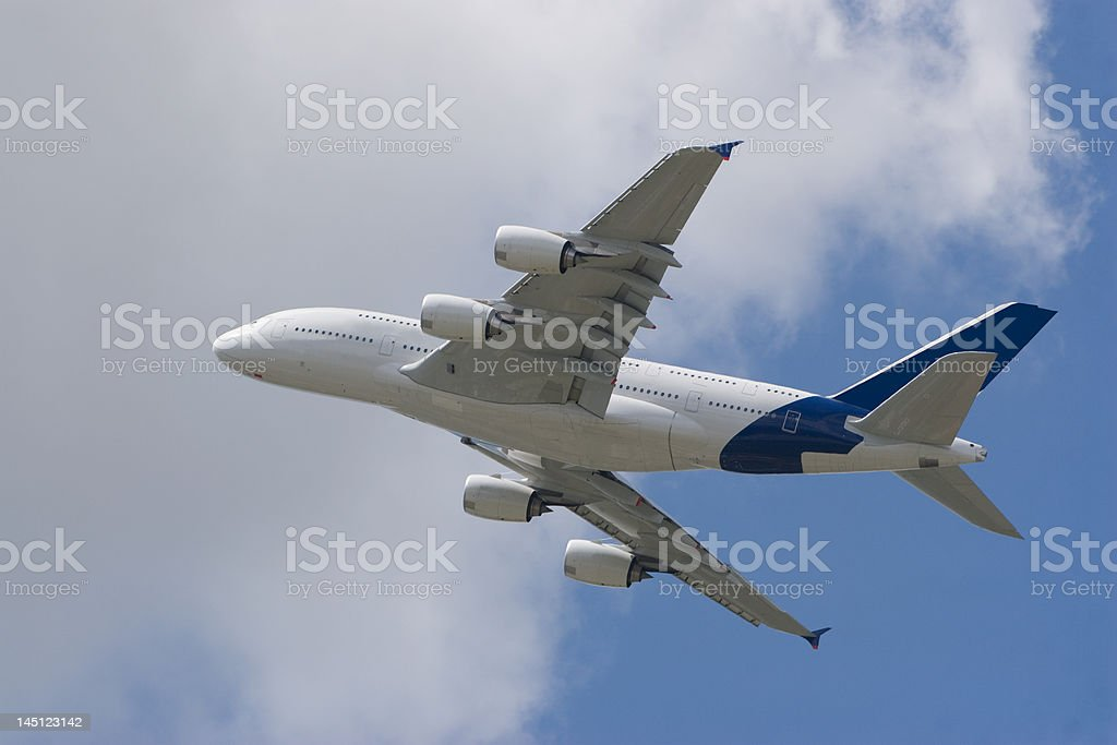 A380 go to Holiday stock photo