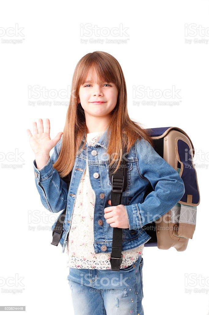Go to shcool stock photo
