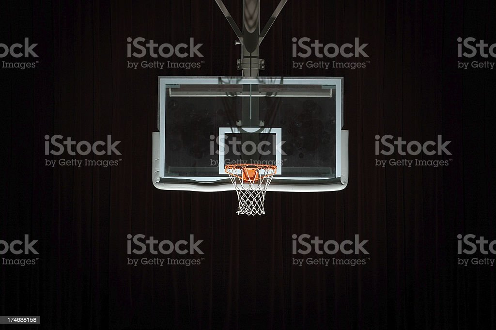 Go to the hoop royalty-free stock photo