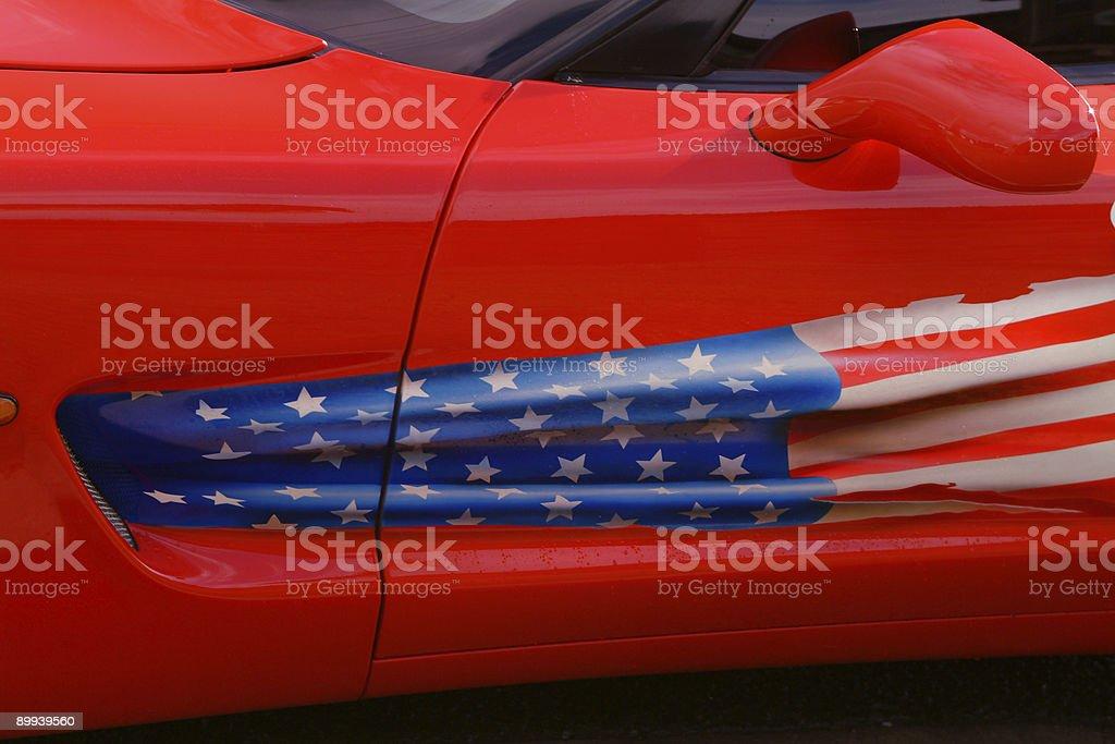 Go USA royalty-free stock photo