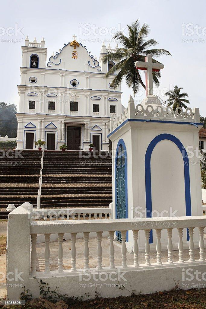 Goa Church royalty-free stock photo