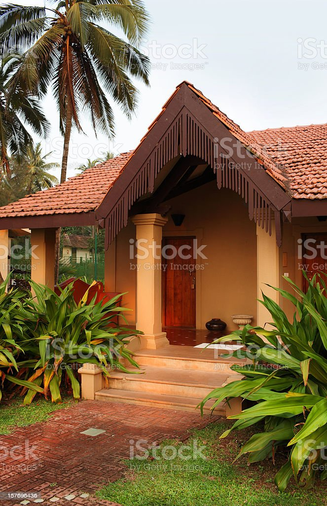 Goa resort royalty-free stock photo