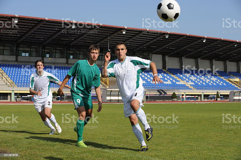Goal action royalty-free stock photo