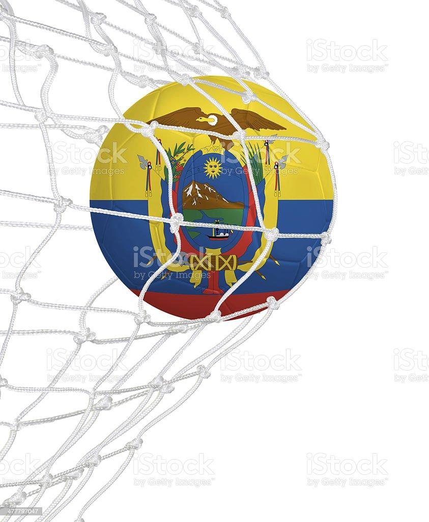 Goal for Ecuador stock photo