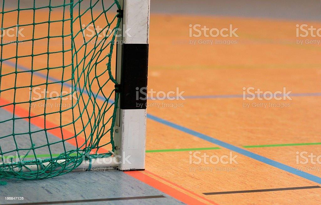 goal indoor stock photo