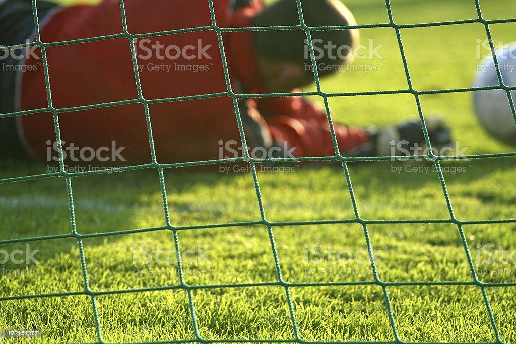 Goal Keeper royalty-free stock photo