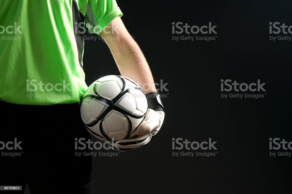 Goal Keeper royalty-free stock photo