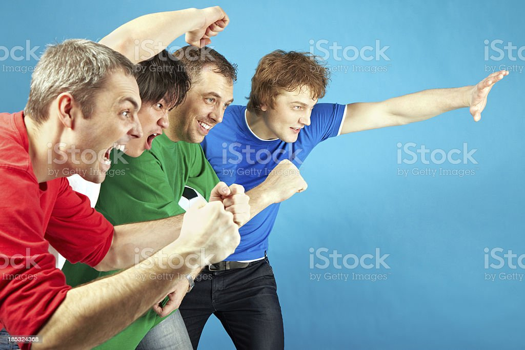 Goal! royalty-free stock photo