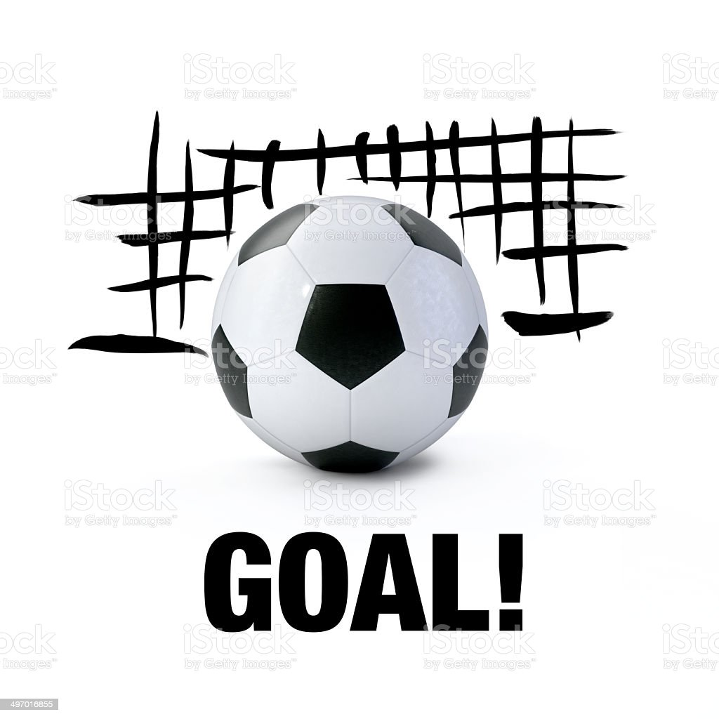 Goal! stock photo