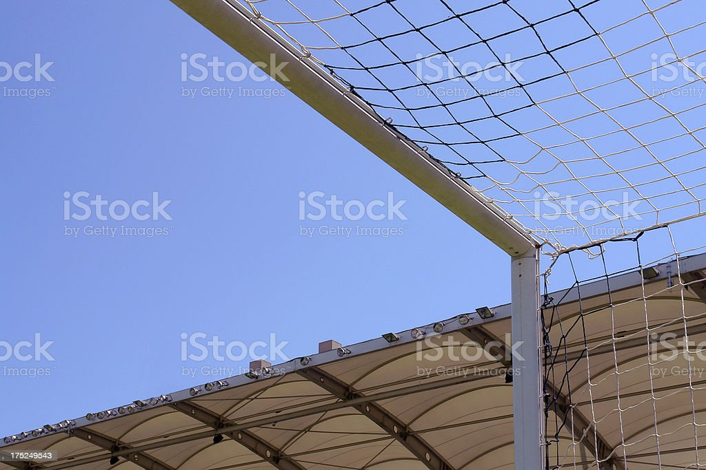 Goal Post (Click for more) royalty-free stock photo