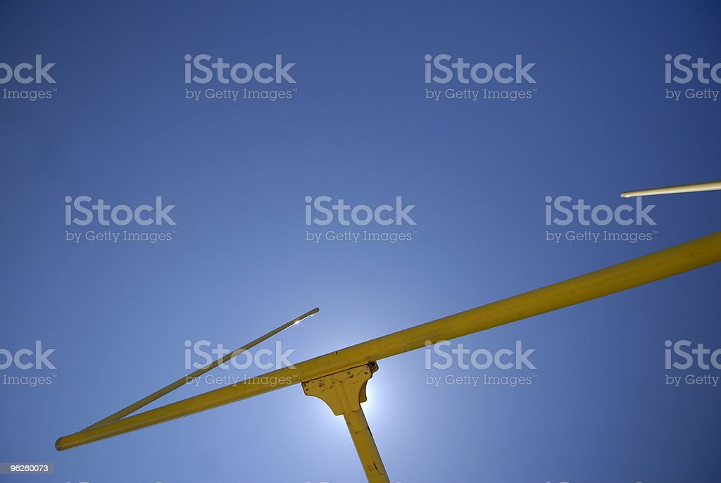 Goal Post royalty-free stock photo