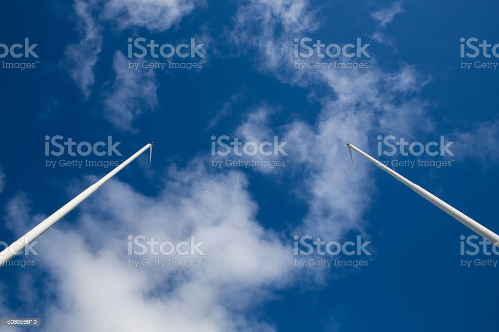 Goal Posts royalty-free stock photo