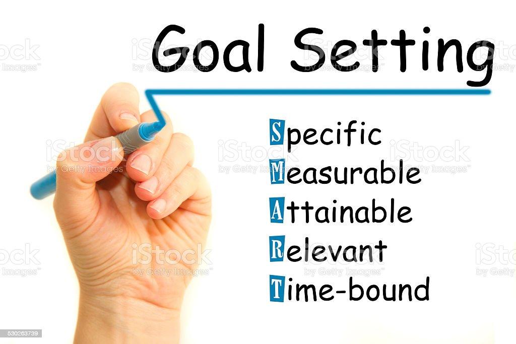 Goal Setting stock photo