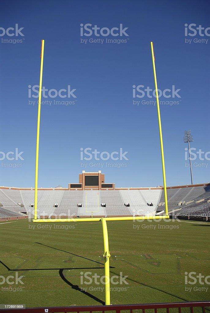 Goal Vertical stock photo
