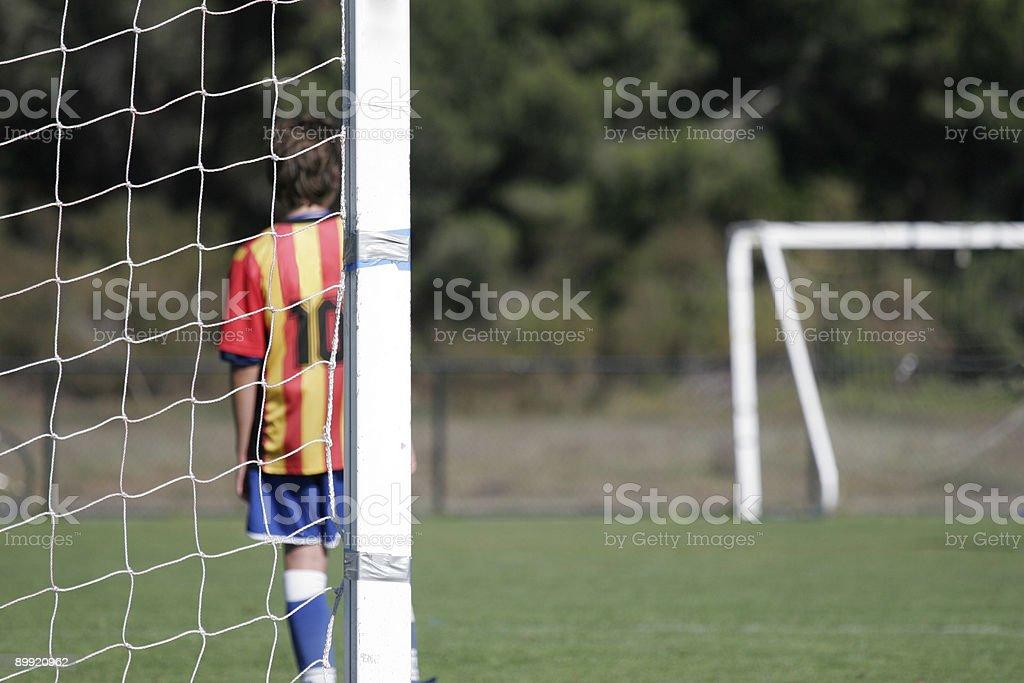 Goalie royalty-free stock photo